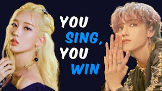 YOU SING YOU WIN! - KPOP SONGS (With Lyrics)