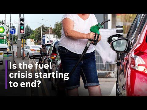 UK fuel crisis 'stabilising' says Boris Johnson