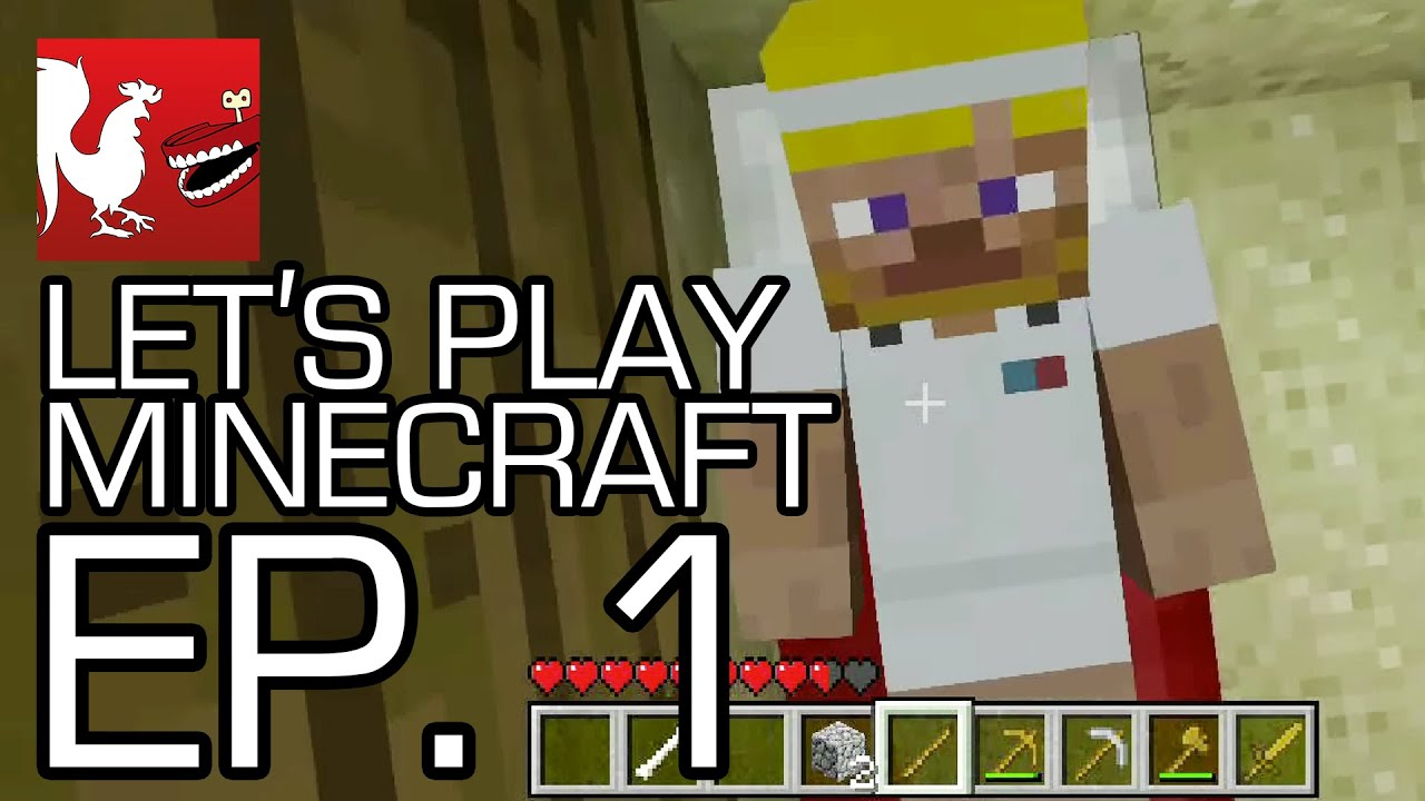 let s play minecraft with geoff jack michael gavin and ray
