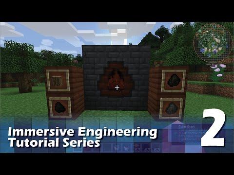 Immersive Engineering Tutorial #2 - Coke Oven