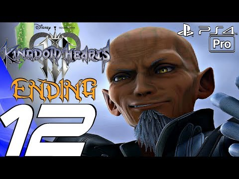 Kingdom Hearts 3 - English Walkthrough Part 12 - Final Boss & Ending + Epilogue (Full Game) PS4 PRO