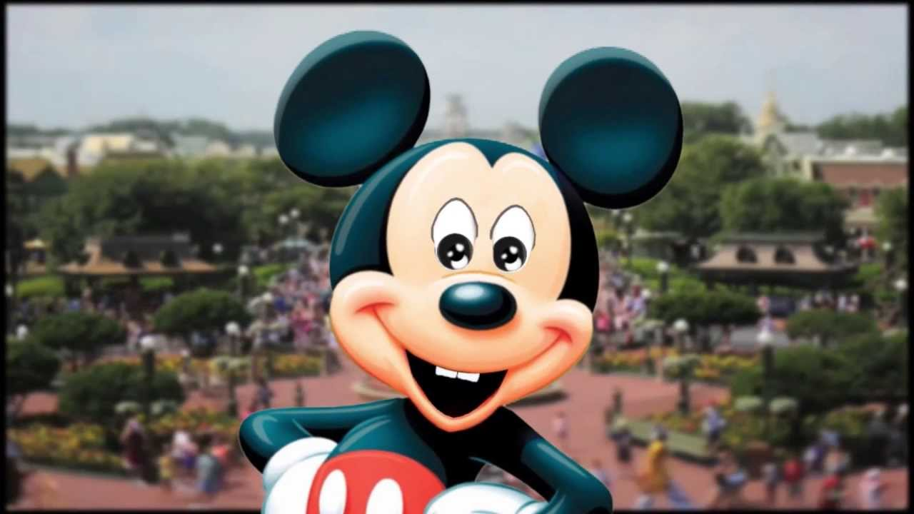 Happy Birthday Greeting By Mickey Mouse Animation Youtube