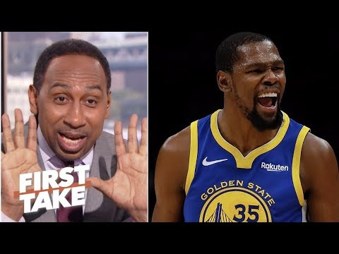 Youve got to be crazy to think anyone can surpass Kevin Durant - Stephen A. | First Take