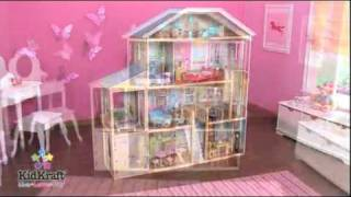 Kidkraft Majestic Mansion Dollhouse 65252 - Barbie Doll Compatible Playhouse