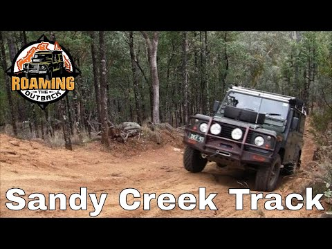 Sandy Creek 4wd Track Alpine NP Victoria
