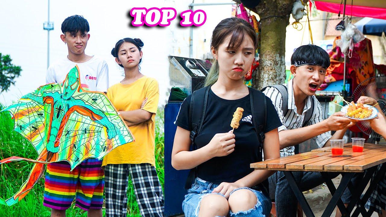 TOP 10 VIDEO HAY  - Diều Tự Chế - Fly A Kite - Táo Xanh TV