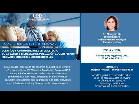 Conferencia internacional: desafíos y oportunidades en el estudio de la salud