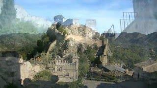 Средневековый замок/крепость Хатива/Шатива (Castillo de Jàtiva/Xàtiva).Валенсия. Испания. Часть №6(Русский проект
