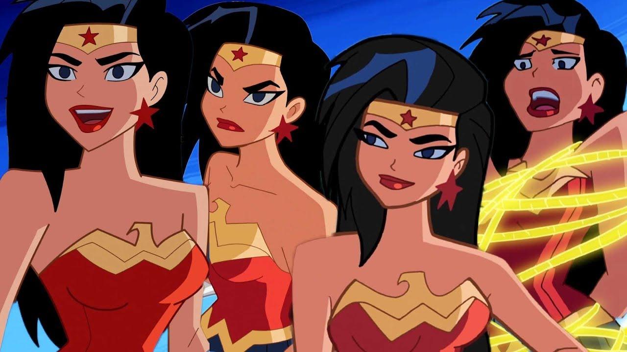 Wonder Woman Tecknad