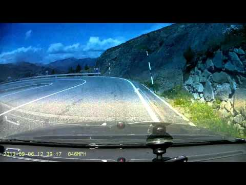 Chasing Sports Cars into Andorra - BlackVue 380G HD Cam
