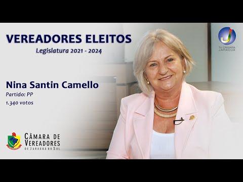 NINA CAMELLO - VEREADORA ELEITA