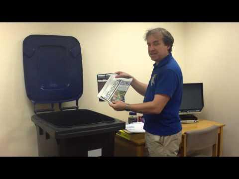 Waste Team Video Clip (Blue Bin)