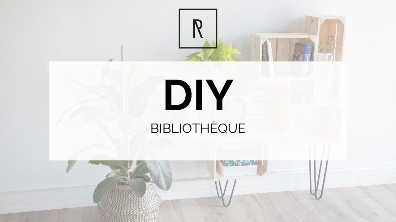Ripaton Pieds De Table diy bibliothèque - ripaton