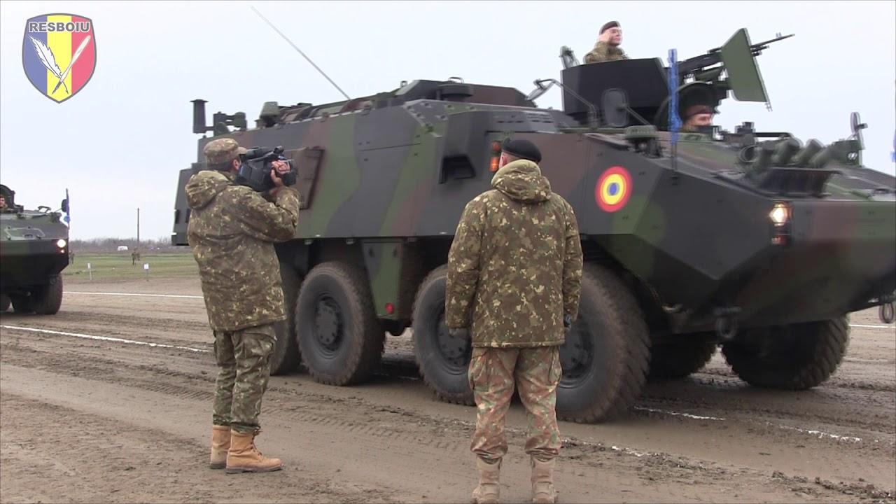 Repetitii pentru Parada Militara Nationala - Poligonul Ghencea (2019)
