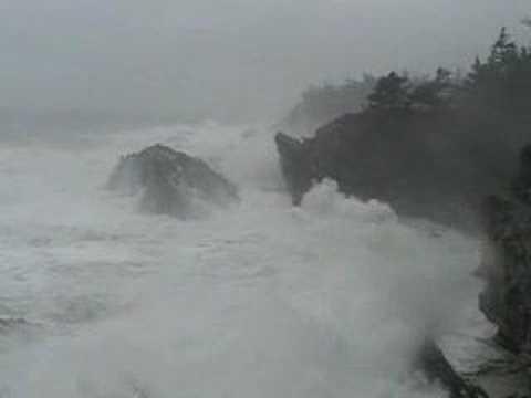 Storm on Oregon Coast