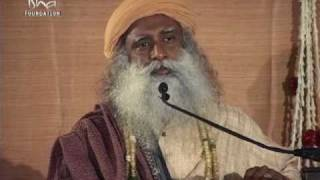 """You are so smart, you even conned Life!"" - Sadhguru"