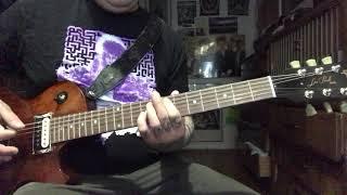 Fugazi - Shut The Door - (Guitar Cover)