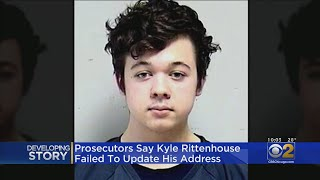 Prosecutors Say Kyle Rittenhouse Failed To Update Address; Attorney Say He's In Safe House