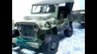 Willys Jeep WWII Vintage_my papercraft