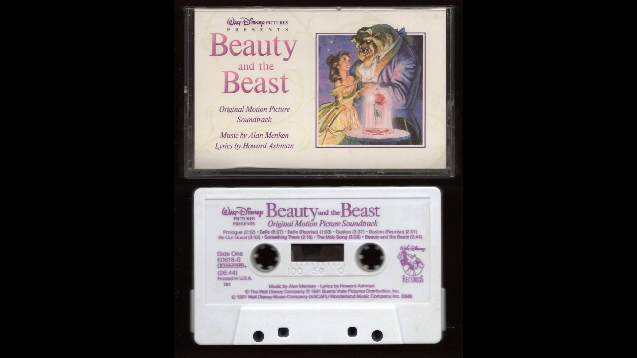 Beauty And The Beast Original Motion Picture Soundtrack 1991 Cassette Tape Rip Full Album Getlofi Circuit Bending Synth Diy