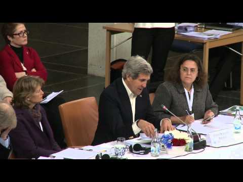 Secretary Kerry Delivers Remarks at the Arctic Council Ministerial Session