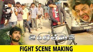 Gentleman Movie Making || Fight Scene Making || Nani, Niveda Thomas