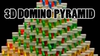 HUGE Domino Pyramid (15,022 dominos)