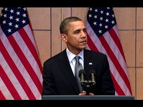 President Obama Speaks on Preventing Mass Atrocities