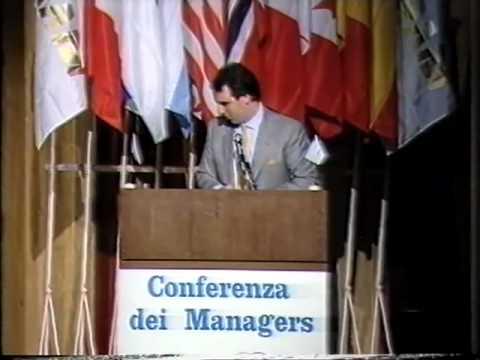 Fideuram - Conferenza dei Managers 1986