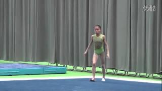 Shang Chunsong FX training 2014 Worlds Nanning Day 1