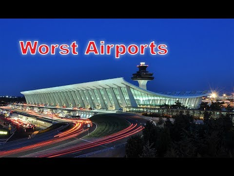 Top 10 Worst Airports In The United States. I Messed Up The Edit. #4 Is Missing. I'll Fix Tomorrow..