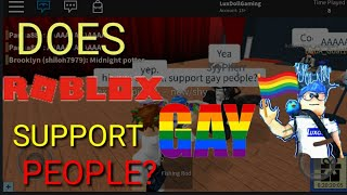 Roblox (Gay Social experiment) *Mobile version*1 like=1 payer for the gay people