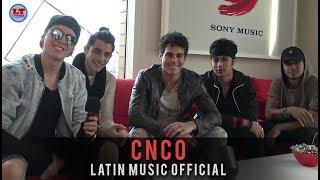 CNCO - Intervista per LATIN MUSIC OFFICIAL
