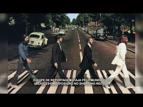 Exposição dos Beatles no Shopping Recife