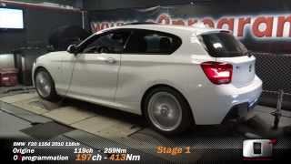 BMW F21 116d 2015 116ch REPROGRAMMATION MOTEUR @197ch