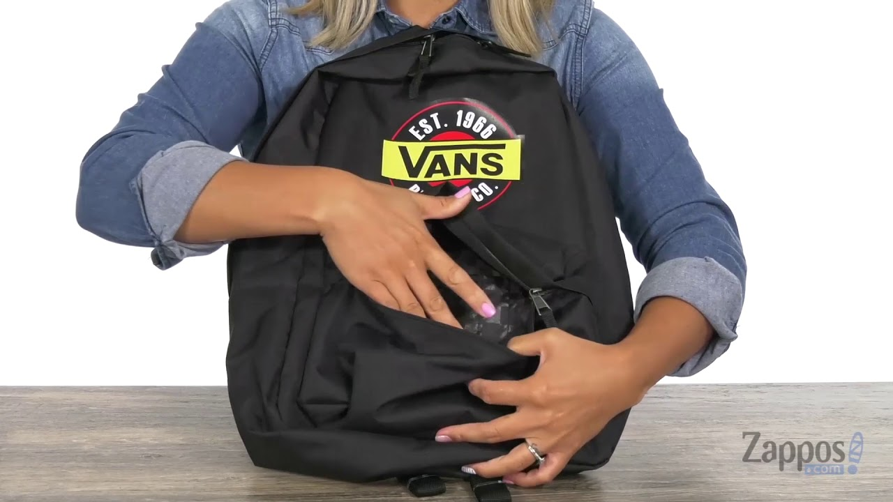3d2863499ade4 Vans Chromo Realm Backpack SKU  9127993 - YouTube