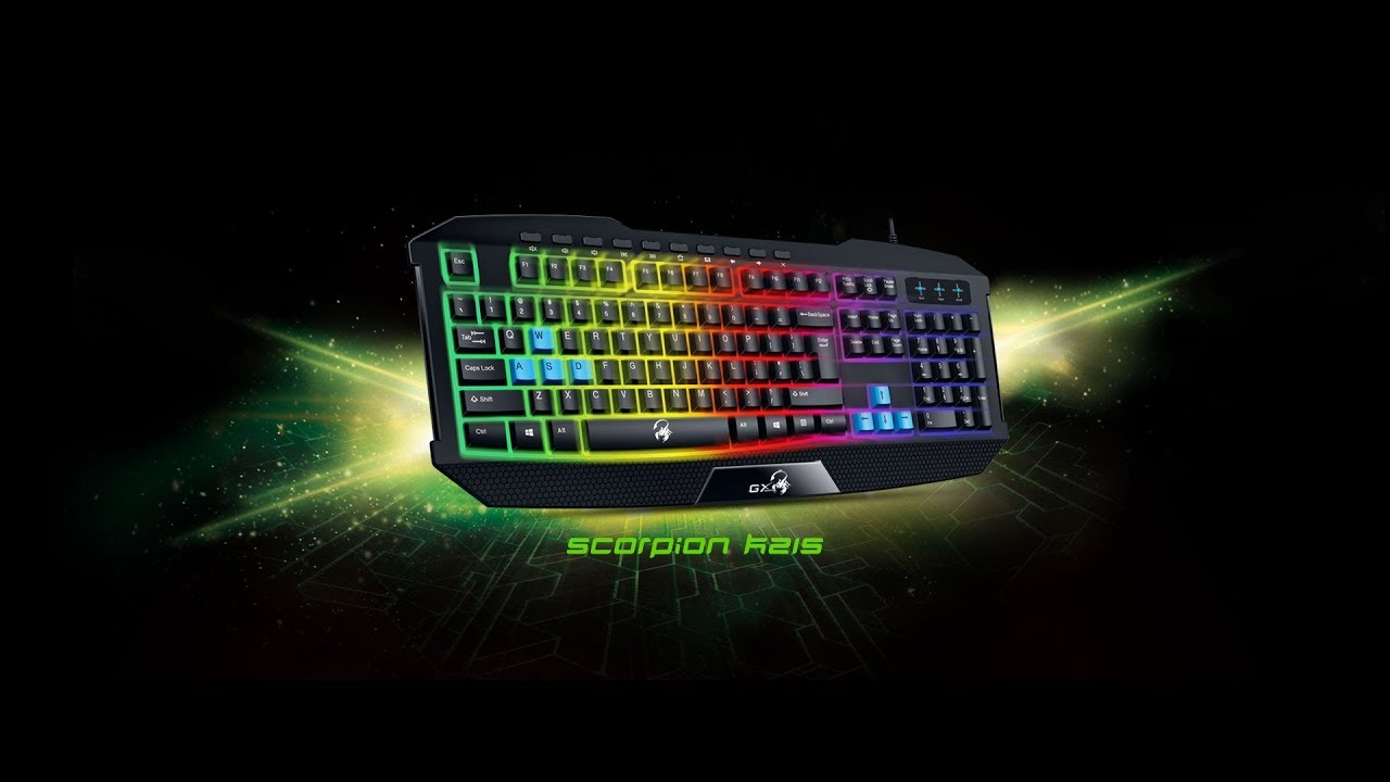 45a0020961f Unboxing Keyboard Genius GX Gaming Scorpion K215 - YouTube