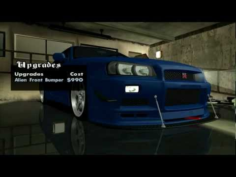 GTA San Andreas Nissan Skyline R34 GT-R [DOWNLOAD]