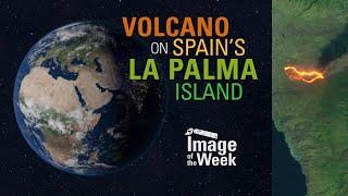 Volcano on Spain's La Palma Island