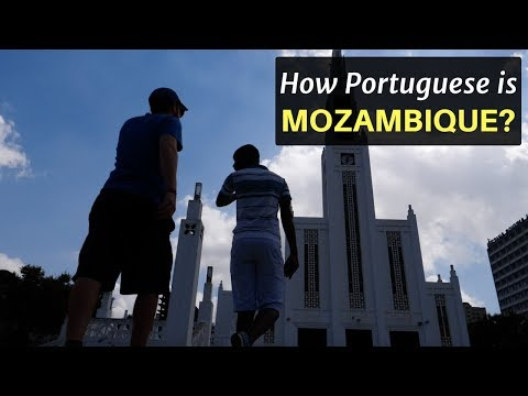 How Portuguese is Mozambique?