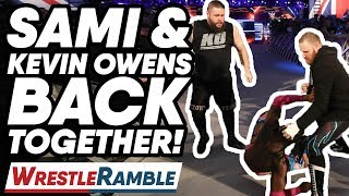 Sami Zayn & Kevin Owens Together Again! | WWE Smackdown Live May 14, 2019 Review | WrestleTalk