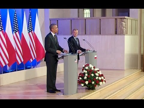 President Obama Meets with Prime Minister Tusk