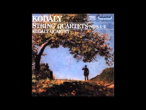 Zoltán Kodály - String Quartets 1 & 2