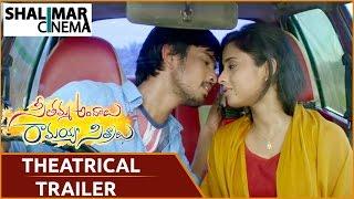 Seethamma Andhalu Ramayya Sithralu Theatrical Trailer | Raj Tarun, Arthana