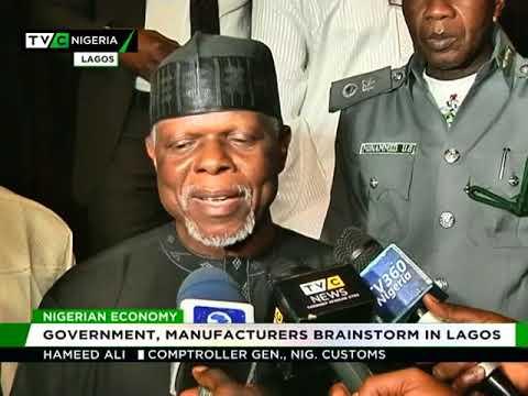 Nigerian Economy : Government, Manufacturers brainstorm in Lagos
