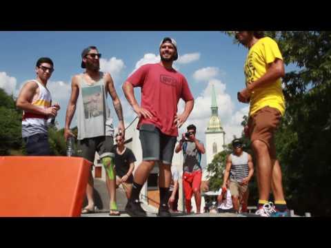 BRATISLAVA Citydownhill 2016 trackwalk