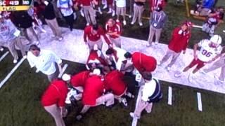 Hardest College Football Hit Ever? 12/1/2012 Nebraska vs. Wisconsin thumbnail
