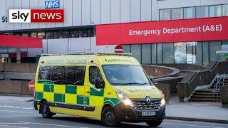 Coronavirus: UK deaths rise by 185 to 769