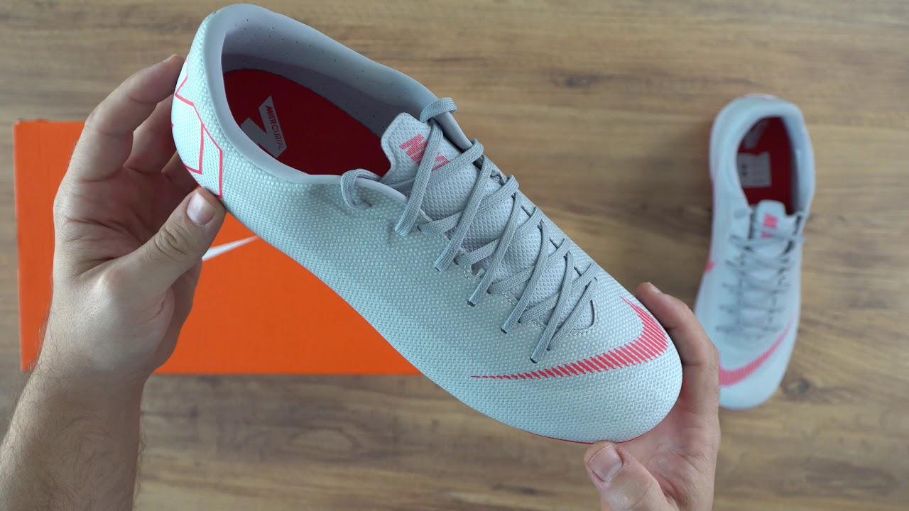 8921f4f36 Nike MercurialX Vapor XII Academy FG MG Erkek Krampon Unboxing - YouTube