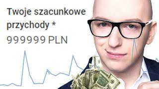 Pokazuję ILE ZARABIAM na YouTube! *screeny!*